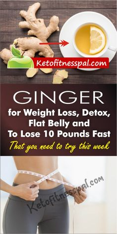 See what else you can use your ginger roots for apart from cooking. Detox, lose weight and belly fat with these tasty ginger water recipes for weight loss Lemon And Ginger Detox, Ginger Drink, Ginger Water, Detox Juice Recipes, Water Recipes, Weight Loss Detox, Weight Loss Drinks, Effects Of Ginger, Fat Burner Drinks