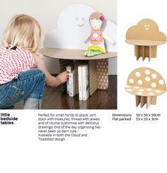 flatout frankie little bedside tables