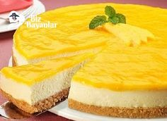 Exporters of mango pulp will tell you no-bake easy mango pie recipe. It is a perfect dessert after dining with your guests. Let's take a look how to make mango pie like a pro. Mango Pie, Mango Cheesecake, Cheesecake Brownies, Pie Recipes, Dessert Recipes, National Cheesecake Day, Passion Fruit Curd, Digestive Biscuits, Just Desserts