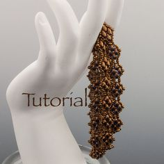 SuperDuo Beadwoven Bracelet Tutorial Sensuous by JewelryTales, $5.00 I Bought this pattern and can't wait to try these superduos and twins.