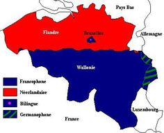La Belgique francophone - la situation linguistique (Blog) -Language question : vlaams or french