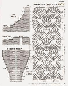 TRICO y CROCHET-madona-mía: Vestidos a Crochet con patrón