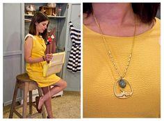 www.poetesbcn.com #necklace #bird #brass #stone #collar #Poètes #handmade #bisutería #Barcelona #lacoquetería #tengotreintaypico