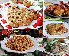 MENU DI NATALE FACILE ricette dall'antipasto al dolce
