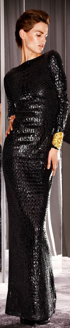 HAUTE♔DRESS TOM FORD Fall 2012 look22
