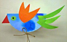 Tvoříme s dětmi  ☺: Ptáček- zápich do osení