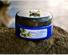 Leahlani Kauai Coconut Body Butter 8 oz on Etsy, $20.00. With coconut oil, Shea butter and Hawaiian spring water- with natural SPF 12-18