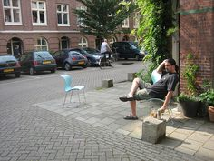 Amsterdam Woonerf by EURIST e.V., via Flickr