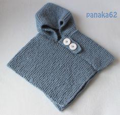 Poncho Capuche Phildar - panaka62 02