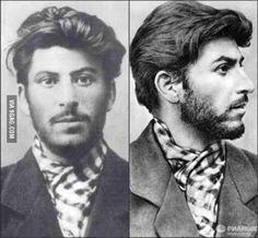 The young Joseph Stalin would bang your girlfriend