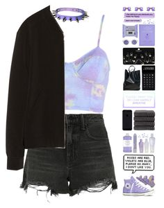 """☀ and you decided purple just wasn't for you ☀"" by pastelmalfoy ❤ liked on Polyvore featuring Chanel, Williams-Sonoma, Alexander Wang, Zara, Converse, Clinique, Christy, Topshop, LEXON and CÉLINE"