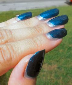 Concrete and Nail Polish: Color Club De-Luxe-Cious & A Ruffian