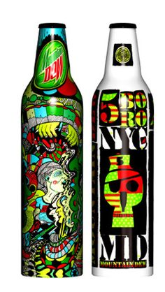Cool Mountain Dew Bottles