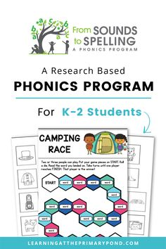 From Sounds to Spelling empowers Kindergarten, 1st grade, and 2nd grade teachers to deliver and differentiate outstanding phonics instruction. First Grade, Second Grade, Phonics Programs, Sight Words List, 2nd Grade Teacher, Teacher Lesson Plans, Phonological Awareness, High Frequency Words, Teaching Writing