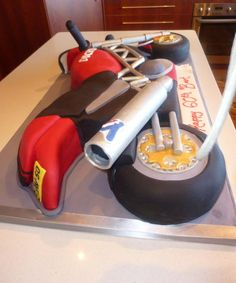 Ducati Rear View (birthday cake)