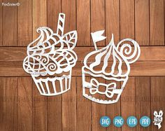 Cupcake SVG, Cupcake Svg Cutting Files, Svg Bundle | Cupcakes Svg | Cupcake Svg file | Cupcake clipart | Silhouette Svg | Cricut Svg | Svg | Cut Files For personal and commercial use. Digital Download. 6 original designs included in this bundle!!
