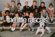The Little Rascals...