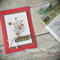 Mikaela Titheridge, Independent Stampin' Up! Demonstrator Touches of Texture www.thecraftyoinkpen.stampinup.net