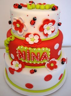 Garden By Dreamcakes_Br on CakeCentral.com