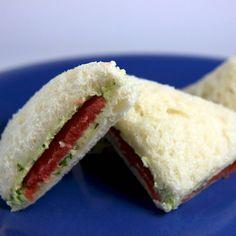 many tea sandwich recipes