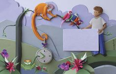Isabelle Barreto Ilustrações em Escultura de Papel. - DIDÁTICO e INFANTIL / CHILDREN'S BOOK