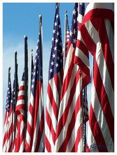 God Bless America, land that I love...