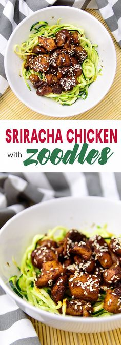 Sriracha chicken wit