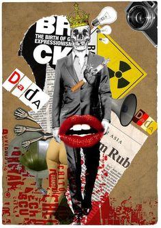 Image detail for -DadA by ~trashherink on deviantART Dada Collage, Collage Kunst, Pop Art Collage, Surreal Collage, Collage Artwork, Collage Design, Collage Artists, Digital Collage, Collages