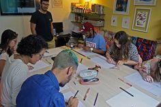 Stampa Studio | Workshop de Caligrafia com Rentato Matos | setembro 2015.