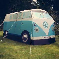 VW Campervan Tents - Camp in Sixties Hippie Van Style
