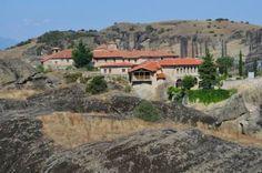 Greek Meteora Monastery