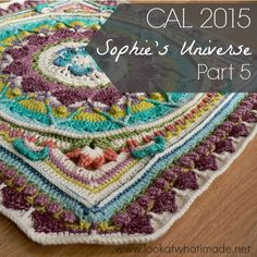 Part 5 of Sophie's Universe {CAL 2015} is the first truly mystery part of the crochet-along. I hope you enjoy this week's installment!
