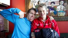Emil Hegle Svendsen and Tarjei Bø