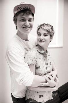 Ansel Elgort & Shailene Woodley