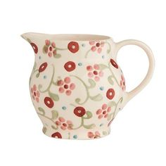 Little Pink Flowers 0.5 Pint Jug (Fortnum & Mason Exclusive) 2017