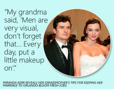 Amen to that!! Just because your married doesnt mean you need to let yourself look like crap all the time,  #petpeeve