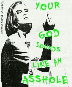 your god sounds like an asshole