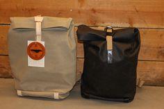 Brooks England Pickwick Sand und Schwarz I Fahrrad Cycle Bag Rucksack I Wasserdicht I Details I Made in Italy