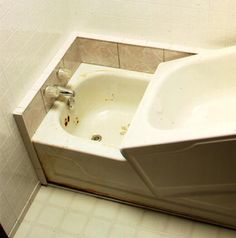#BathtubInserts - Bathtub inserts or bathtub liners, are installed directly over  existing tubs or showers to give the fixtures a new look. They  can be installed over shower pans and walls.  >> Learn how to choose a bathtub insert for your disabled bathroom at http://www.disabledbathrooms.org/bathtub-inserts.html