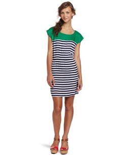 Necessary Objects Women S Stripe Combo Dress