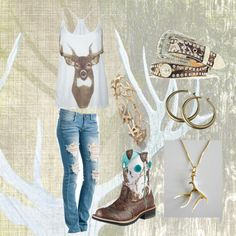 """Antlers"" by ashleyelliott-1 on Polyvore"