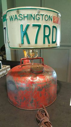 Gas Can Rat Rod Upcycle Lamp by CatkinsCreations on Etsy