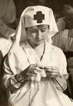 A WWI American Red Cross Nurse. 1917