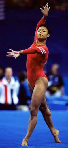 Today in Black History, 11/20/2013 - Dominique Margaux Dawes was first African American female to win an Olympic Gold medal in gymnastics.