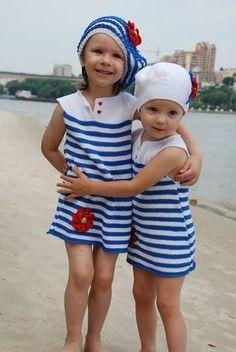 Морячка платье для девочки