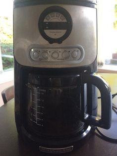 KitchenAid 12cup coffee maker. Still works great we have bought a new one