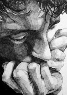 Sara Zin - Ballpoint Drawings
