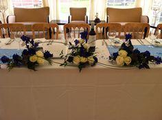 Top table trio at fishlake mill.
