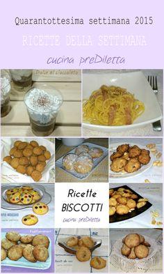 Ricette 48° settimana 2015, blog cucina preDiletta, a cura di Diletta Arcidiacono
