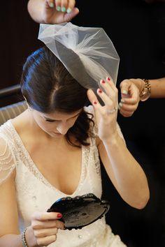 Vintage bride style, photo by adagion.com